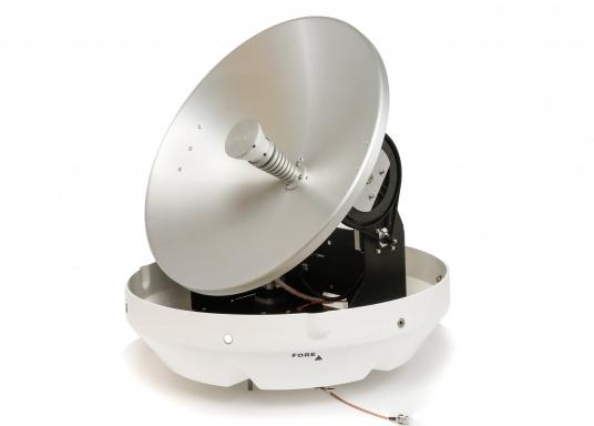 Die Satelliten TV-Antenne RHEA bietet beste Leistung beim Empfang von HD-TV Signalen. Der große Spiegel (47 cm) sorgt dafür, dass sie auch in Randgebieten und bei schlechtem Wetter ein störungsfreies Fernsehbild genießen können.