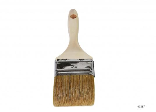 Eine Auswahl erstklassiger Pinsel für anspruchsvolle Maler- und Lackierarbeiten. Die hochwertigen Lackierpinsel eignen sich insbesondere für Klar- und Buntlackierarbeiten. Erhältlich in verschiedenen Ausführungen.  (Bild 4 von 6)