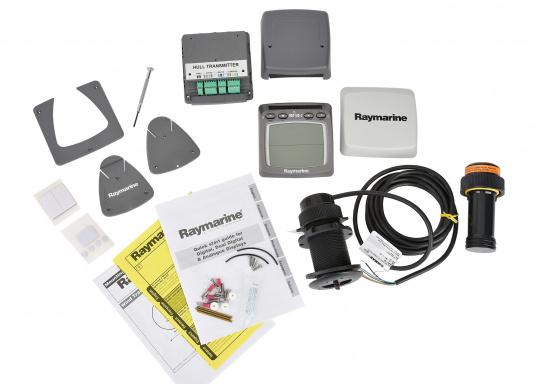 Raymarine log e ecoscandaglio wireless solo u ac svb