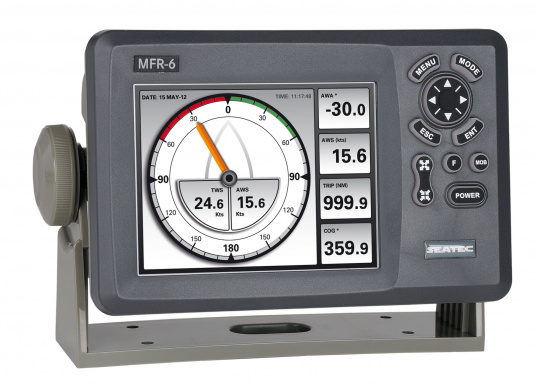 Do you already have an AIS receiver / transmitter on board, but you want to displayAIS targets / SART features? Then the SEATEC Multifunction Repeater MFR-6 is a perfect complement!