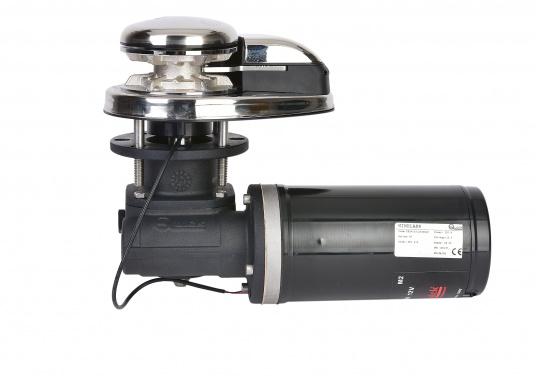 Vertikale Ankerwinden mit / ohne Spill, mit 300 / 500 Watt erhältlich. Model PRINCE DP1 hat ein eloxiertes Alugetriebe und eine Edelstahl-Basis. Ausgestattet mit manuellem Free-Fall-System, Druckhebel, Inspektionsdeckel, wasserdichtem Motor. (Bild 2 von 4)