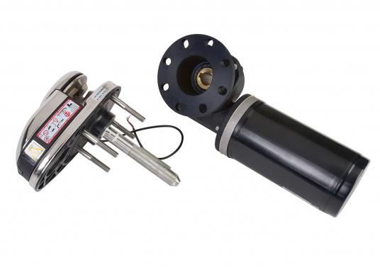 Vertikale Ankerwinden mit / ohne Spill, mit 300 / 500 Watt erhältlich. Model PRINCE DP1 hat ein eloxiertes Alugetriebe und eine Edelstahl-Basis. Ausgestattet mit manuellem Free-Fall-System, Druckhebel, Inspektionsdeckel, wasserdichtem Motor. (Bild 3 von 4)