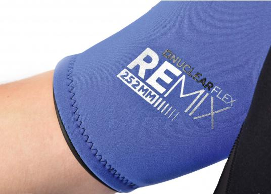 Wärmender Neoprenanzugmit 2,5 mm starkem, wasserabweisendem Neopren im Oberkörperbereich. Der Anzug bietet ein angenehmes Tragegefühl undvielBewegungsfreiheit im Bein- und Armbereich. (Bild 8 von 9)