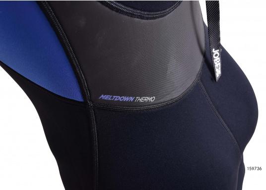 Wärmender Neoprenanzugmit 2,5 mm starkem, wasserabweisendem Neopren im Oberkörperbereich. Der Anzug bietet ein angenehmes Tragegefühl undvielBewegungsfreiheit im Bein- und Armbereich. (Bild 4 von 9)