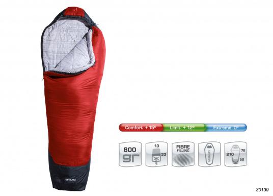 Die Basis für einen erholsamen Schlaf! Die leichten und komfortablen Schlafsäcke PUK sind fürsommerliche Temperaturen geeignet.     (Bild 2 von 2)
