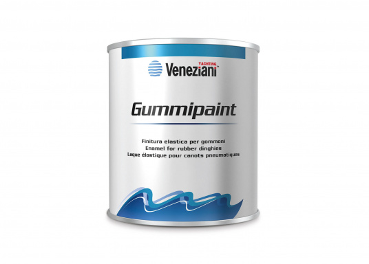 Ideal for inflatable boats - e.g. to write the boat nameon your boat. The elastic 1-component, elastomer-based paint is highly resistant to marine weather, UV radiation and fresh and salt water.  (Image 2 of 3)