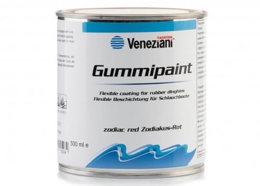 Ideal for inflatable boats - e.g. to write the boat nameon your boat. The elastic 1-component, elastomer-based paint is highly resistant to marine weather, UV radiation and fresh and salt water.  (Image 3 of 3)