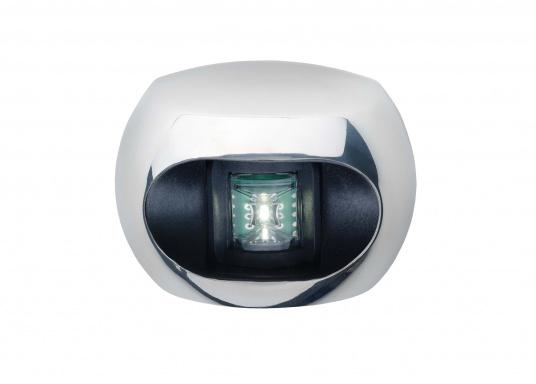 Edelstahlabdeckung, poliert. Passend für aqua signal - LED Serie 34. (Bild 3 von 3)
