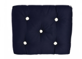 Image of Kapok Single Cushion / marine blue