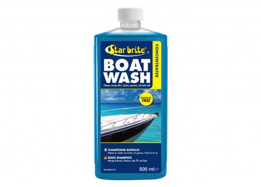 Hochleistungsfähiges Boot Shampoo! Diese biologisch abbaubare Bootswaschmittel mit konzentrierter Hochleistungsformel entfernt Fett und Schmutz.