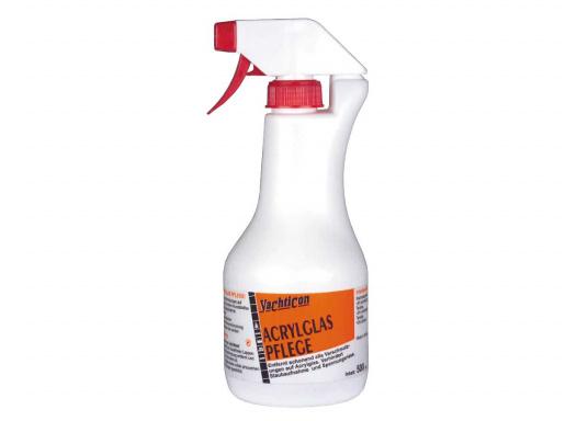 Diese Acrylglas Pflege entfernt schonend Verschmutzungen, verhindert Staubaufnahme und Spannungsrisse, lässt stumpfe Scheiben wieder klar werden und der Langzeitschutz verhindert Neuverschmutzung.