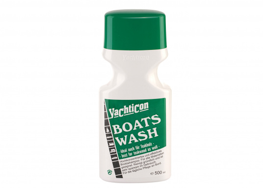 Universally applicable and environmentally friendly boat shampoo. Boat Wash is suitable for use in salt water and for all materials, including teak.