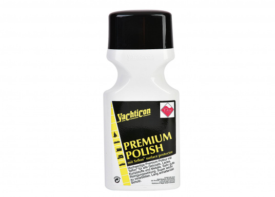 High-quality premium polish with Teflon® surface protector. Removes dirt, debris, salt and other soilings. Suitable for plastics, gelcoat and painted surfaces.
