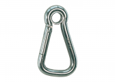 Stainless Steel Carbin Hook with closed Eye