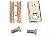 Steering Wire Clamp, Chrome-plated Bronze