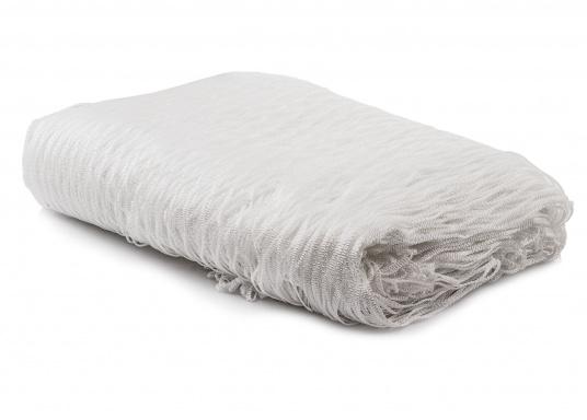 Relingsnetzaus Polyestergeflochten und verschweißt undmit einer Maschenweite von 30mm.  (Bild 3 von 3)