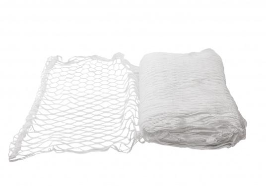 Relingsnetzaus Polyestergeflochten und verschweißt undmit einer Maschenweite von 30mm.  (Bild 2 von 3)