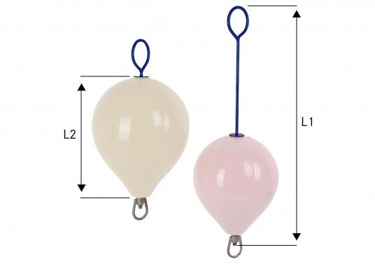 feuerverzinkte 12 mm Stahlstange  mit Wirbel und beidseitigen Ösen  in verschiedenen Größen und Längen lieferbar   (Bild 9 von 10)