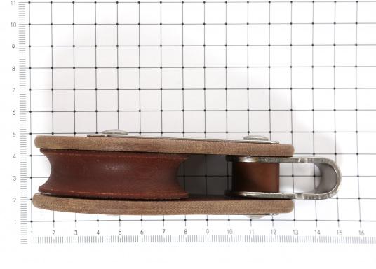 Einscheibiger Block mit Wirbelschäkel. Erhältlich in verschiedenen Größen.  (Bild 3 von 3)
