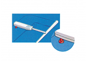Aufbausockel für Pinnenpilot