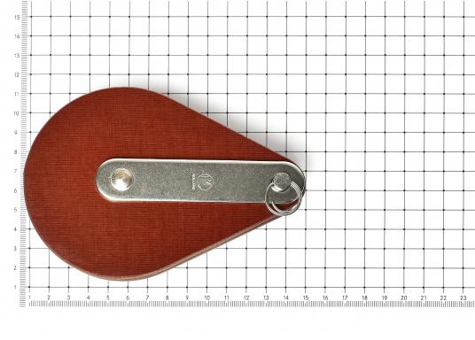 Einscheibiger Drahtseilblock mit Bolzen. Erhältlich in verschiedenen Größen. (Bild 3 von 3)