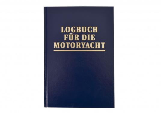 """Dieses Logbuch für die Motoryacht ist ein """"muss"""" an Bord: Törnbegleiter zur Dokumentation der Reisen. 176 S., Format 21 x 14,5 cm, Kunstleder mit Golddruck, gebunden."""