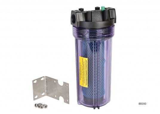 Separatore olio innovativo. Questoseparatore olio filtraresti di olio e componenti oleosidall'acqua di sentinaanche nel caso in cui siano molto diluiti.  (Immagine 2 di 3)