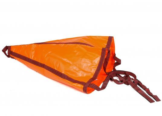 Dieser robuste Treibanker ist hervorragend geeignet um die Abdrift- oder Vorwärtsbewegung Ihres Bootes zu verringern. Außerdem hält er ihr Boot im Wind oder in der Strömung. (Bild 2 von 5)