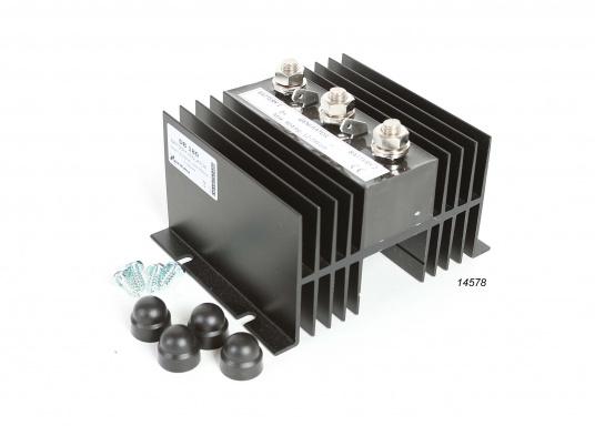 100% für die Batterie!Mit dem NAUTIC POWER Diodenverteiler wird eine nahezu 100%-ige Ladung der Batterien erreicht.Belastbarkeit 90 A Dauerbetrieb, kurzzeitig max. 200 A. Eigenstromverbrauch gegen Null.  (Bild 2 von 4)