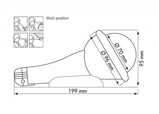 Der Fest- und Handpeilkompass ist ein universeller Kompass für viele Einsatzmöglichkeiten. Besonders geeignet als Zweitkompass oder als Kompass für kleine Schiffe, Jollen oder Kajaks. Erhältlich mit und ohne Beleuchtung.  (Bild 2 von 11)