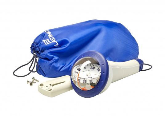 Der Fest- und Handpeilkompass ist ein universeller Kompass für viele Einsatzmöglichkeiten. Besonders geeignet als Zweitkompass oder als Kompass für kleine Schiffe, Jollen oder Kajaks. Erhältlich mit und ohne Beleuchtung.  (Bild 6 von 11)