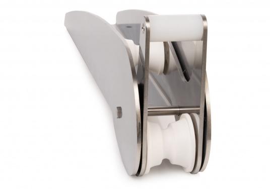 Extra starke Ausführung mit Wippe. Besonder geeignet für Bruce und CQR-Pflugschar-Anker. Material: Edelstahl, rostfrei. Materialstärke: 5 mm.  (Bild 2 von 10)