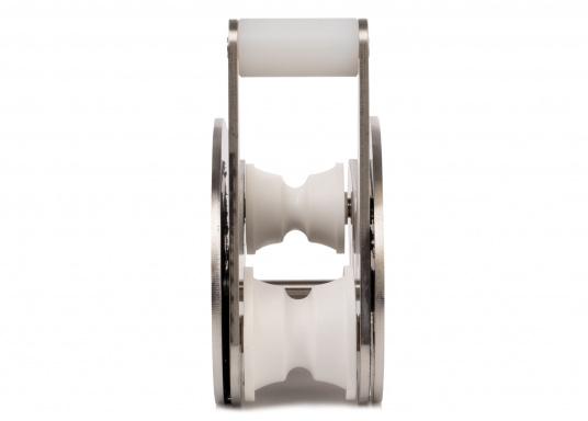 Extra starke Ausführung mit Wippe. Besonder geeignet für Bruce und CQR-Pflugschar-Anker. Material: Edelstahl, rostfrei. Materialstärke: 5 mm.  (Bild 4 von 10)