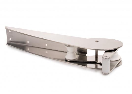 Extra starke Ausführung mit Wippe. Besonder geeignet für Bruce und CQR-Pflugschar-Anker. Material: Edelstahl, rostfrei. Materialstärke: 5 mm.  (Bild 5 von 10)