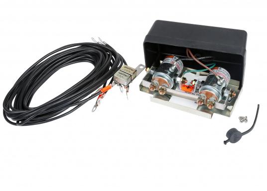 Erstklassige, seit vielen Jahren bewährte Elektro-Seilwinden für den Einsatz auf Trailern, als Fahrzeugwinde, zum Heben und Absenken von Bauteilen etc. (Bild 2 von 5)