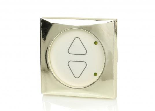 Formschöne Halogen-Dimmer zur stufenlosen Helligkeitsregelung von Halogenlampen. Komfortable Soft-Touch-Bedienung.