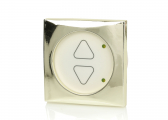 FRILIGHT smart dimmer switch / brass-colored frame