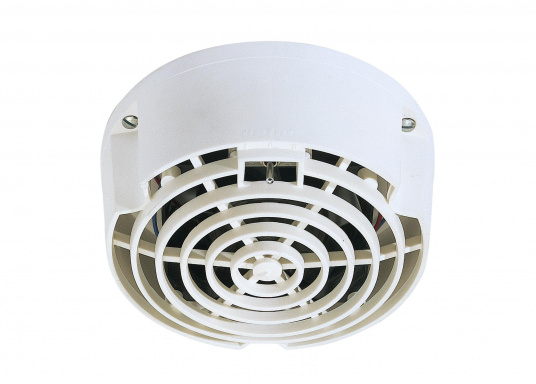 Particularly long life and almost noisless! This electric ventilator offers an ideal combination with standard, deck and mushroom ventilators.Available in two versions: 12 V or 24 V.