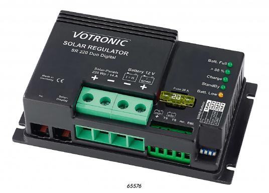 VOTRONIC Solar-Laderegler in Shunt-Regler-Technik (SR) bieten einen doppelten Batterie-Ladeausgang und Überladeschutz für die Batterien. Sie eignen sich auch für den Anschluss an nur eine Batterie. Steckfertige Lieferung.