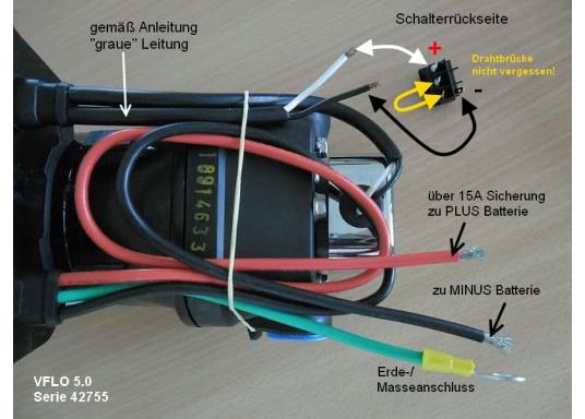Top-Model mit variabler Drehzahl! Diese Pumpe arbeitet immer mit optimaler Drehzahl und erreicht einen sehr gleichmäßigen Wasserstrom.  (Bild 5 von 5)