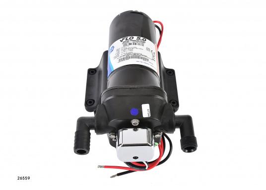 Top-Model mit variabler Drehzahl! Diese Pumpe arbeitet immer mit optimaler Drehzahl und erreicht einen sehr gleichmäßigen Wasserstrom.  (Bild 3 von 5)