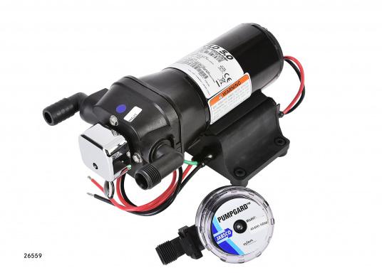 Top-Model mit variabler Drehzahl! Diese Pumpe arbeitet immer mit optimaler Drehzahl und erreicht einen sehr gleichmäßigen Wasserstrom.  (Bild 2 von 5)