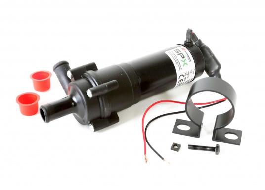 Hochleistungs-Zentrifugalpumpen zur Umwälzung von Kühl- und Heizsystemen. Die Pumpen sind Dauerlauf-geeignet. Lieferbar mit 16 oder 20 mm Anschluss (15 L / min oder 18,5 L / min).  (Bild 2 von 4)
