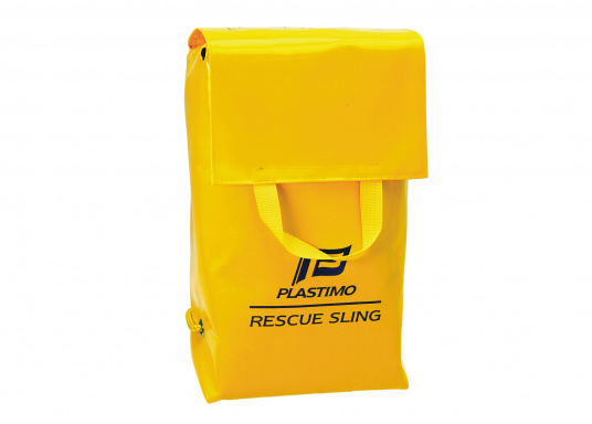 "Proven rescue gear for hoisting a ""man-overboard"" back on board. Only high quality materials were used during manufacturing of this equipment. Comes supplied with a bag.