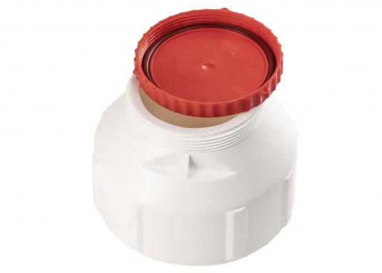 Verstauen Sie IhreNotpakete, Medikamente, Signalmittel etc. sicher in diese stabilen und wasserdicht verschließbaren Aufbewahrungsbehältern aus Kunststoff. Inhalt: 6 Liter.  (Bild 2 von 6)