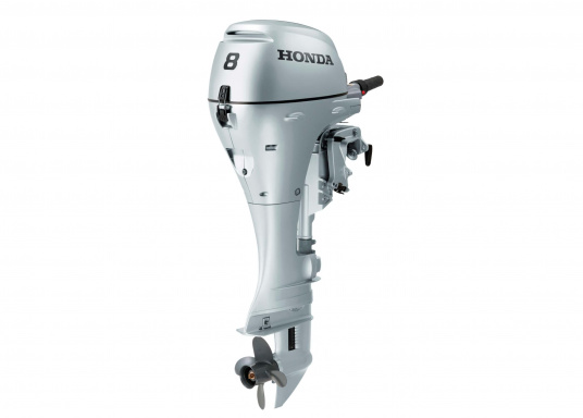 The HONDA BF 8 is a reliable partner on the water. It has an extensive warning system with features such as: overheating and an oil pressure alarm. Available as a short shaft or long shaft version.