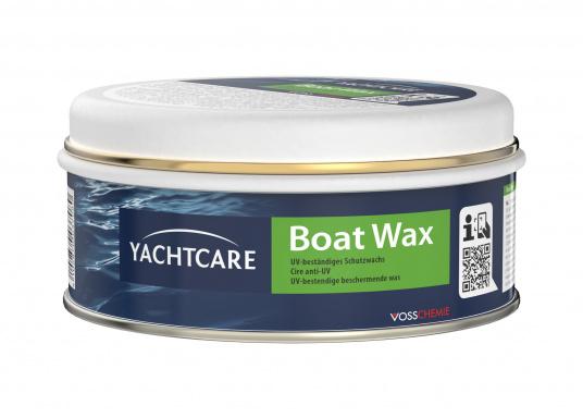 Schutz für GFK und Lackoberflächen! Das Bootwachs bildetein dauerhaftes und hartes, spiegelblankes Finish gegen Oxydation und Salzwasser.Der eingebaute UV-Filter sorgt dafür, dass keine Vergilbungen entstehen.