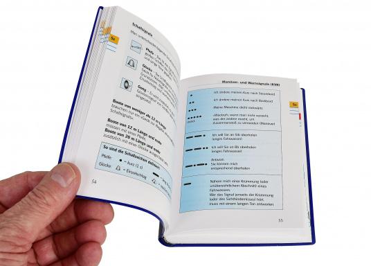Yacht Bordbuch – die gut geordnete Gedächtnisstütze für all das Wissen, das man im Bedarfsfall schnell parat haben muss.  (Bild 2 von 5)