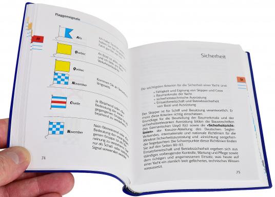 Yacht Bordbuch – die gut geordnete Gedächtnisstütze für all das Wissen, das man im Bedarfsfall schnell parat haben muss.  (Bild 4 von 5)