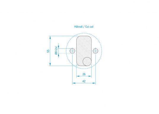 Mehr Sicherheit für Ihr Schiff! Der Batterie-Trennschalter mit abziehbarem Schlüssel dient zur Unterbrechung des Stromkreises –so schützt er vor unbefugter Benutzung und gegen Kurzschluss während Ihrer Abwesenheit.  (Bild 3 von 3)